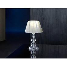 662110 stolní lampa s tělem z čirého metakrylátu, 1x E27/ max. 60W