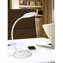 552758 LED stolní pracovní lampička, bílá, 8W LED. 570 lm. 4.000 K