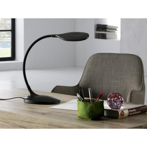 552764 LED pracovní lampička, černá, 8W LED. 570 lm. 4.000 K