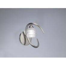 2926 nástěnné svítidlo, matný nikl (satin) - sklo, 1x G9/ max. 40W