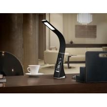 468227 stolní pracovní lampa s budíkem a teploměrem,
