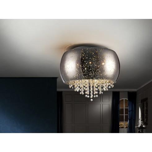 618253 stropní svítidlo, chrom, 5x G9 LED/ 6W